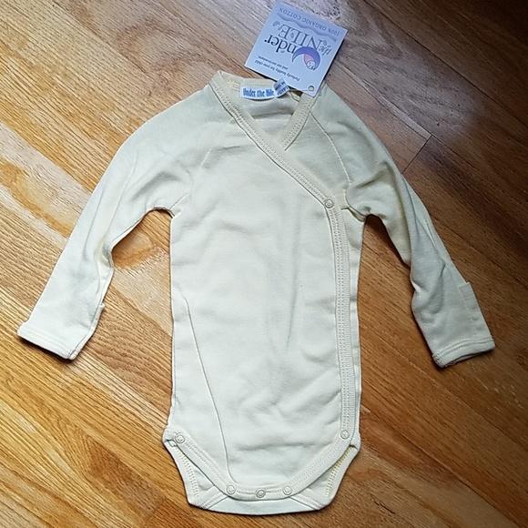 3d43d7cfa2 Organic Cotton Long Sleeve Side-Snap Baby Onesie